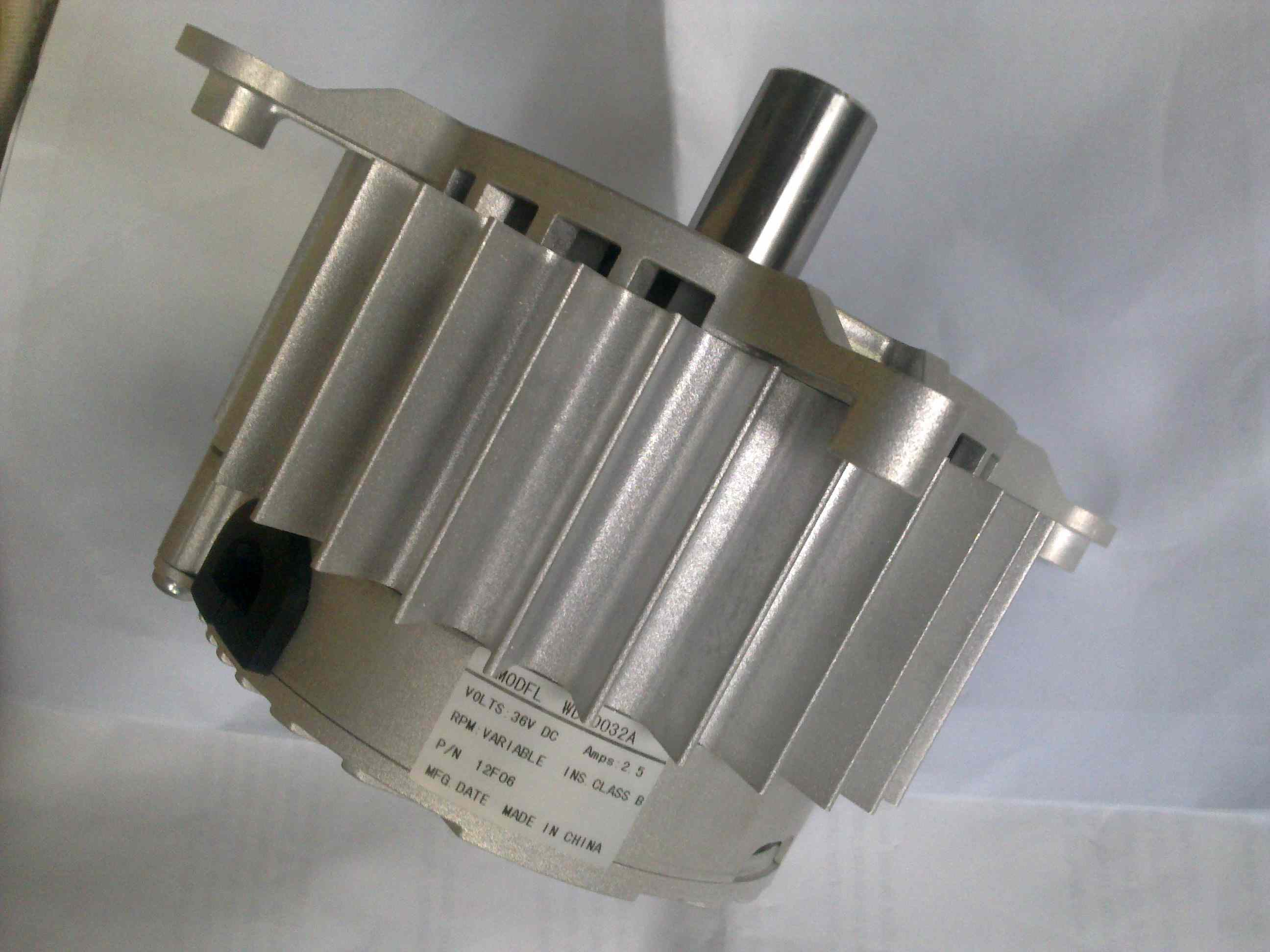 Variable Speed Brushless Type DC Motor