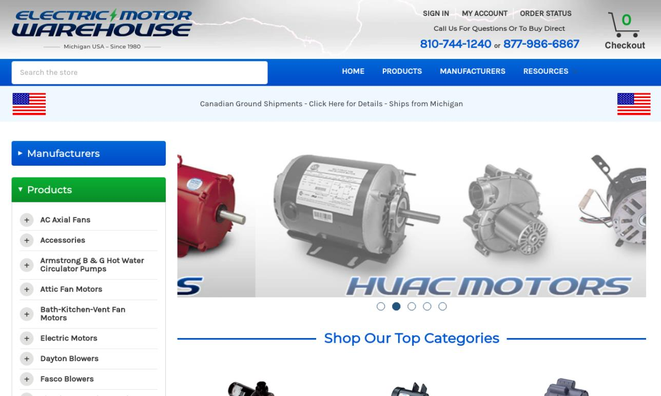 Electric Motor Warehouse