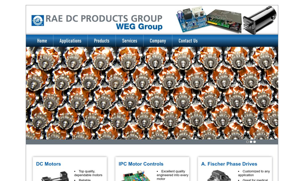 RAE DC Products Group
