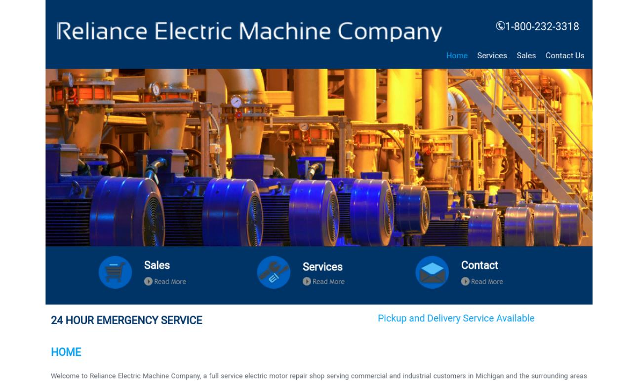 Reliance Electric Machine Co., Inc.